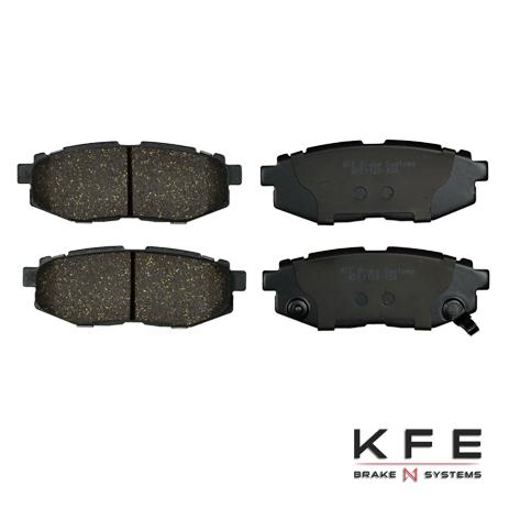 KFE1124-104 Rear Cearmic Brake Pads
