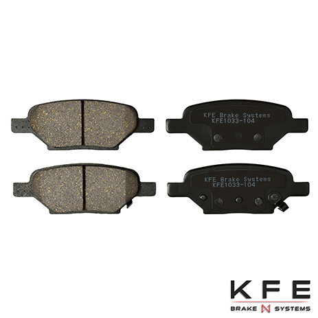 KFE1033-104 Rear Ceramic Brake Pads