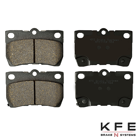 KFE1113-104 Rear Ceramic Brake Pad