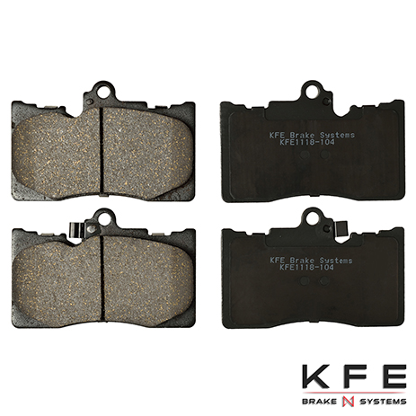 KFE1118-104 Front Ceramic Brake Pad