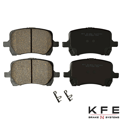 KFE1160-104 Front Ceramic Brake Pad