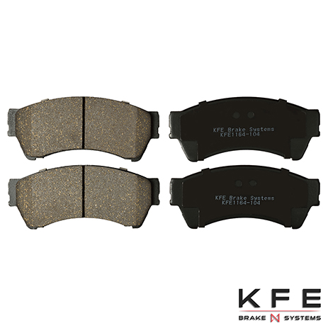 KFE1164-104 Front Ceramic Brake Pad
