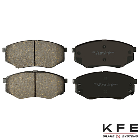 KFE1447-104 Front Ceramic Brake Pad