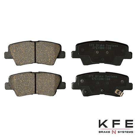 KFE1594-104 Rear Ceramic Brake Pad