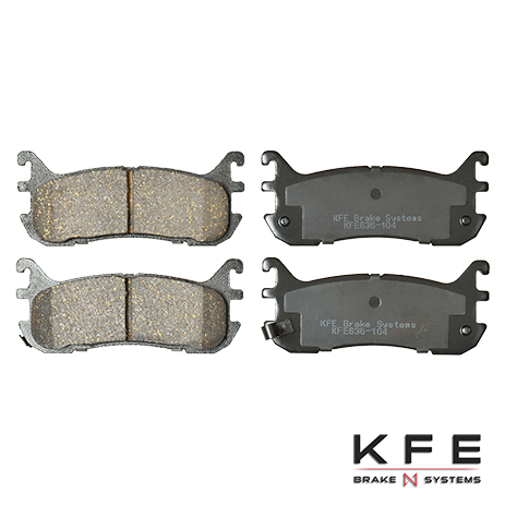 KFE636-104 Rear Ceramic Brake Pad
