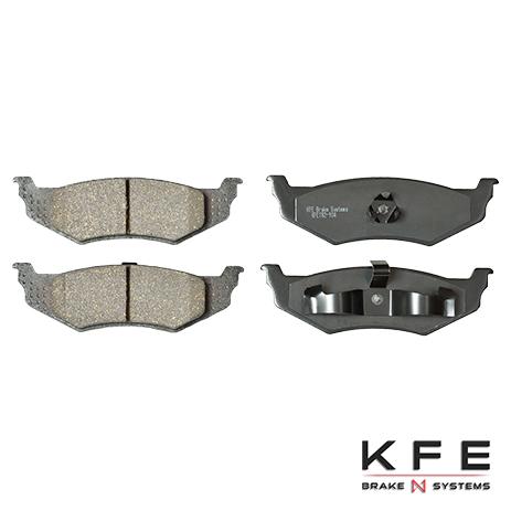 KFE858-104 Rear Ceramic Brake Pad