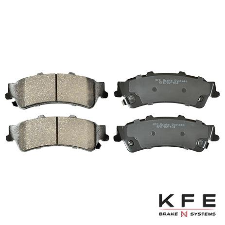 KFE792-104 Rear Ceramic Brake Pad