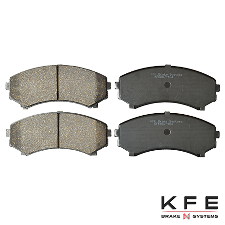 KFE867-104 Front Ceramic Brake Pad