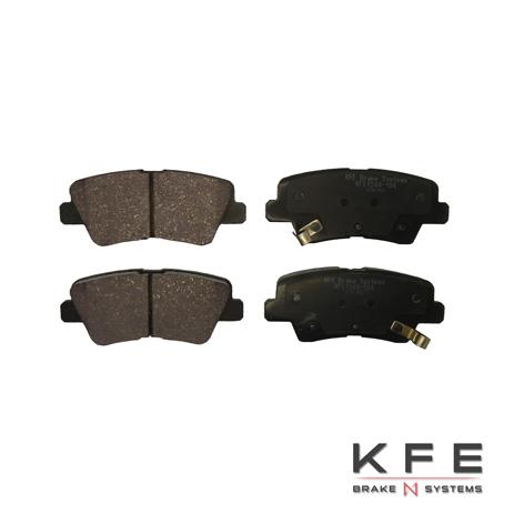 KFE1544-104 Ultra Quiet Advanced Ceramic Brake Pads