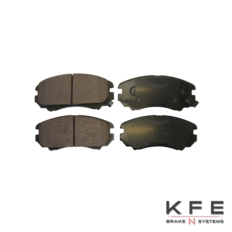 KFE924-104 Ultra Quiet Advanced Ceramic Brake Pad