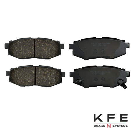 KFE1124-104 Rear Cearmic Brake Pads