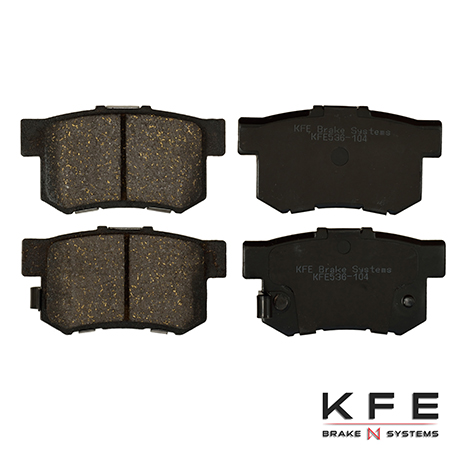 KFE536-104 Ultra Quiet Advanced Ceramic Brake Pad