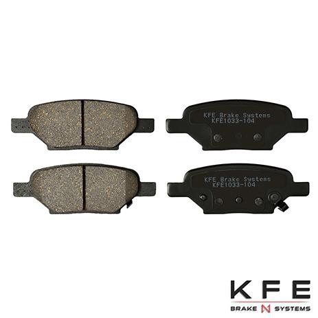 KFE1033-104 Rear Ceramic Brake Pads