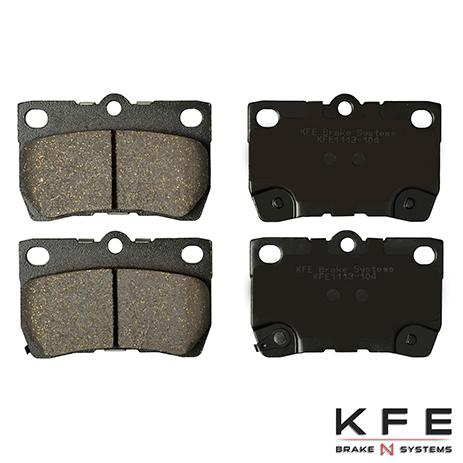 KFE1113-104 Rear Ceramic Brake Pad