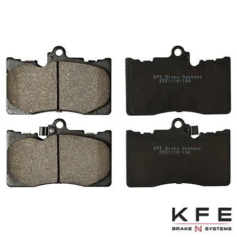 KFE1118-104 Front Ceramic Brake Pad