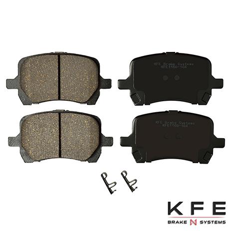 KFE1160-104 Front Ceramic Brake Pad