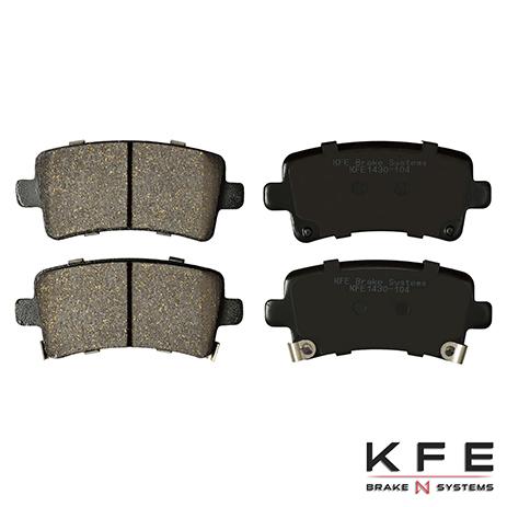 KFE1430-104 Rear Ceramic Brake Pad