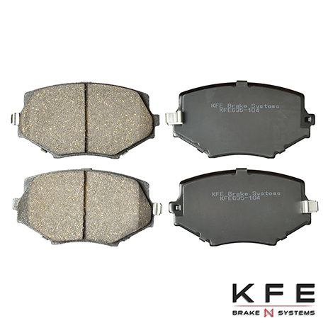 KFE635-104 Front Ceramic Brake Pad