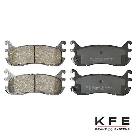 KFE636-104 Rear Ceramic Brake Pad